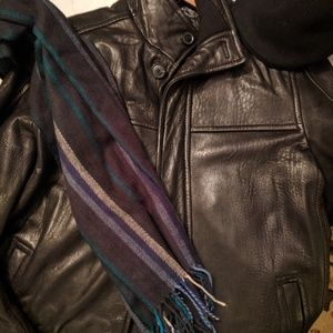 Fabulous Leather Car Coat Andrew Marc